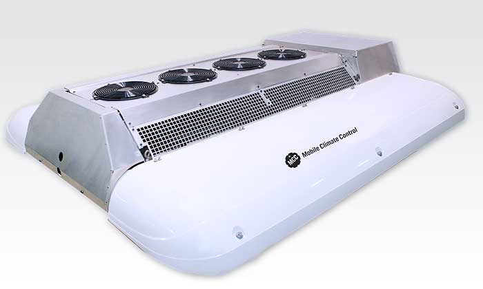 Electric Roof Mount A/C Eco 136e | Reefercool Carrier and MCC ...